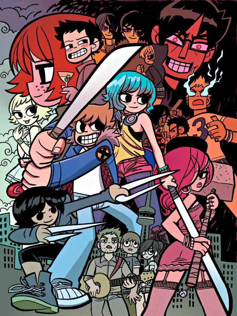 "Potential artwork for ""Scott Pilgrim vs. the Animation""?"