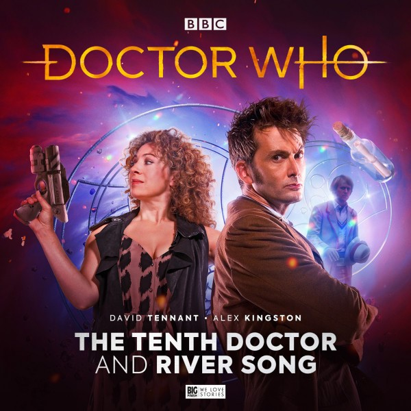 The Tenth Doctor and River Song cover art