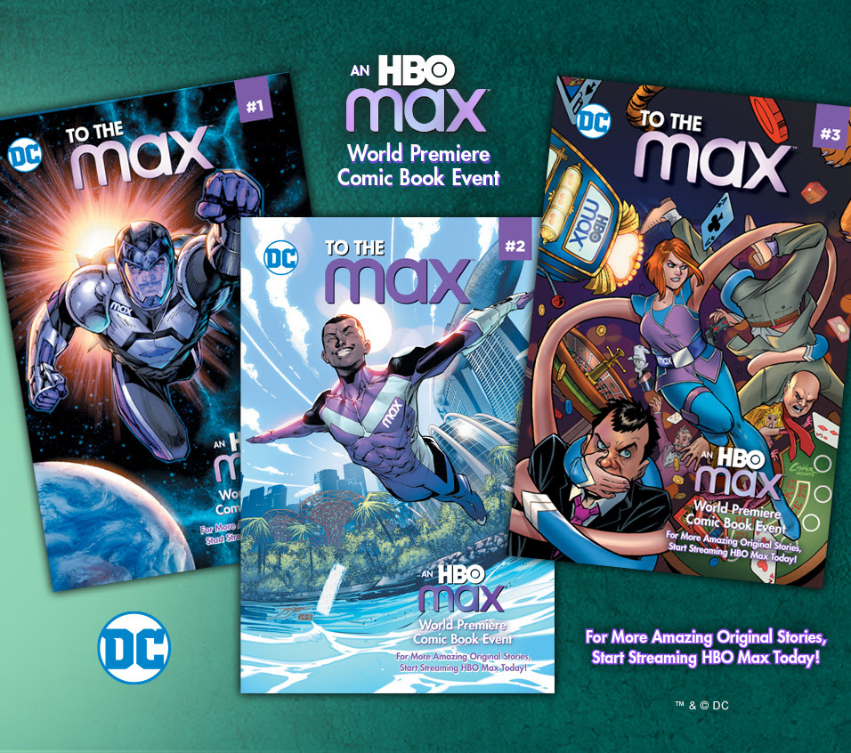 DC and HBOMax Merge in Comics!