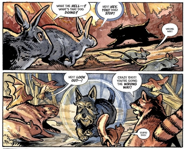 Beasts Of Burden: Wise Dogs