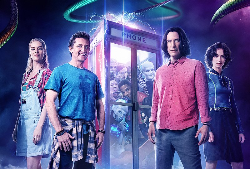Bill & Ted – The Most Excellent 'Face The Music' SDCC Panel