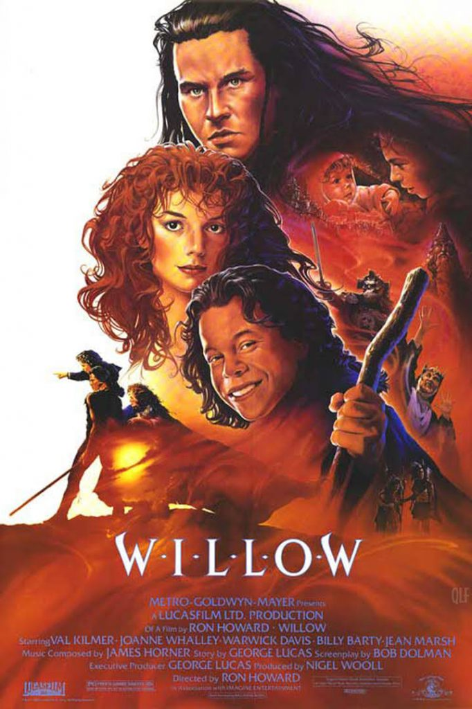 """Willow"" movie poster, with credits too."