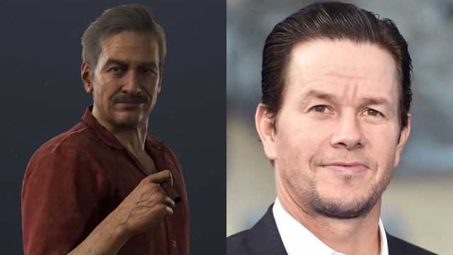 Mark Walhberg compared to a decidedly older Sully.