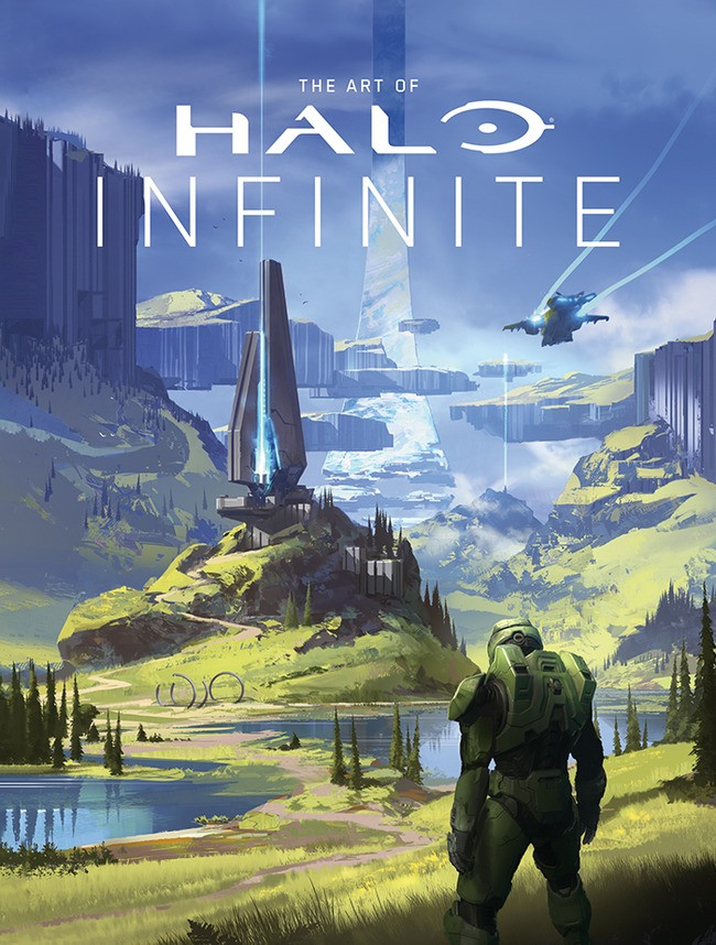 """The Art of Halo Infinite"": Preview of a Time-Travelling Book"