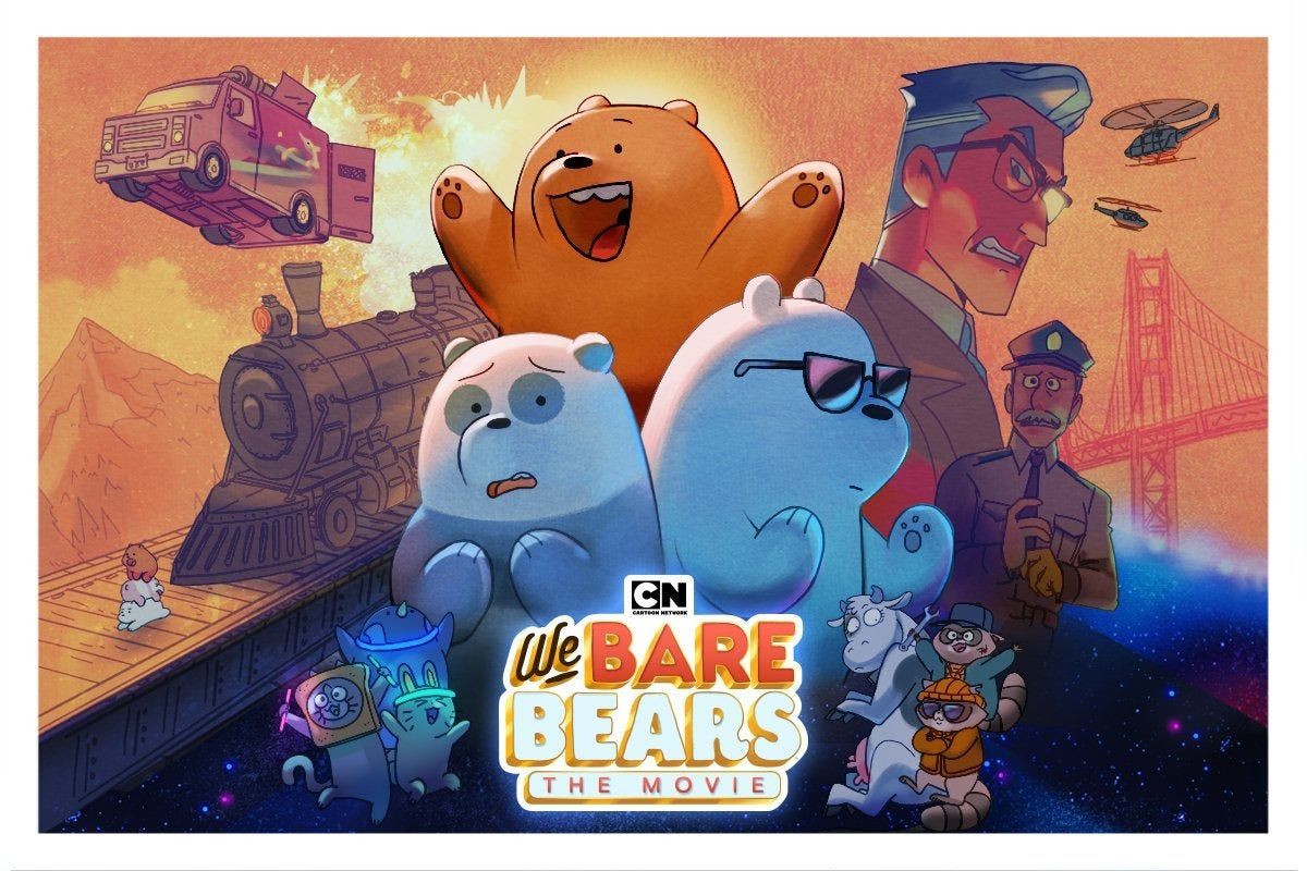 """We Bare Bears: The Movie"" Coming to DVD September"