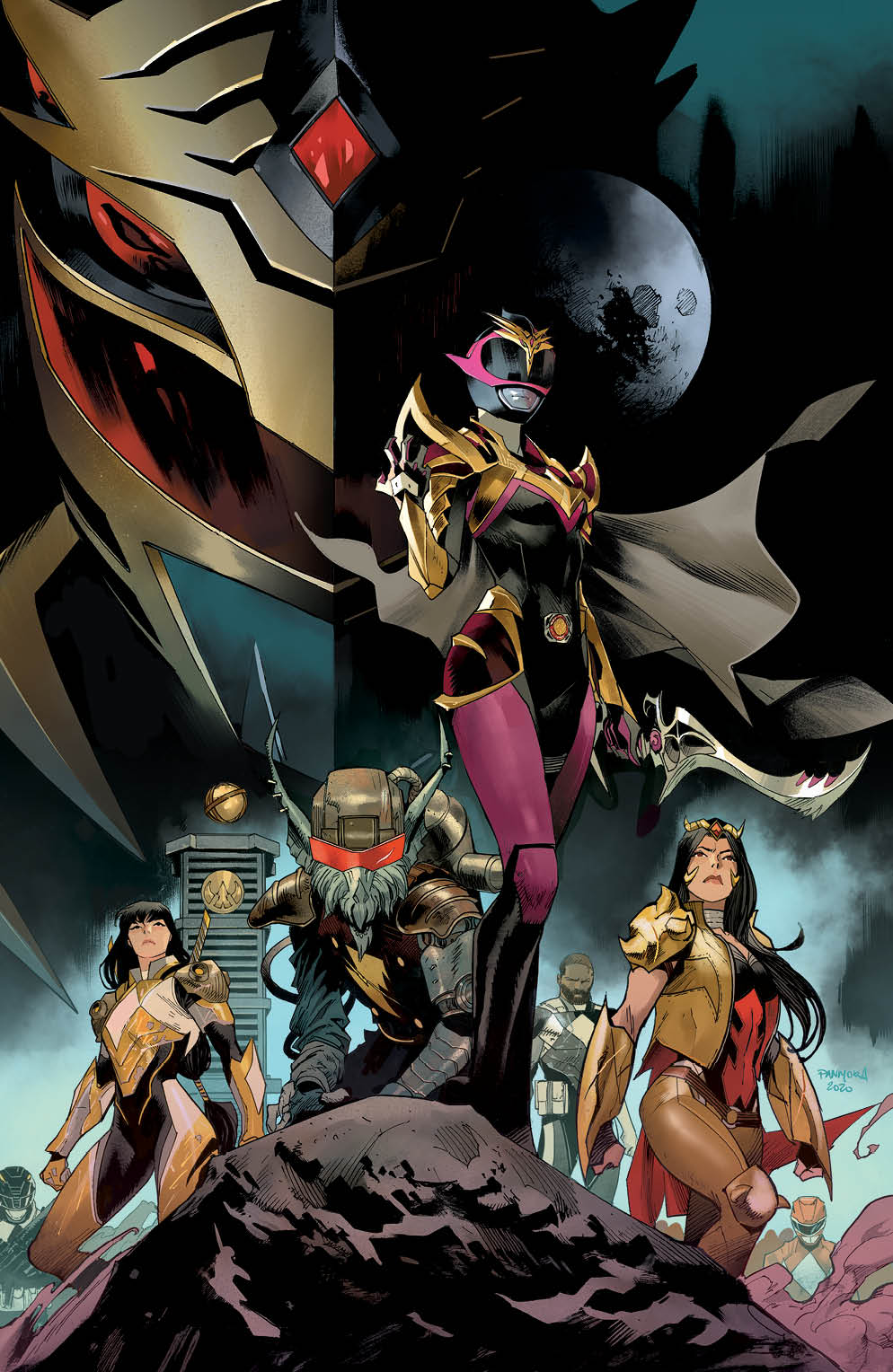 Review: Power Rangers- Drakkon New Dawn #1