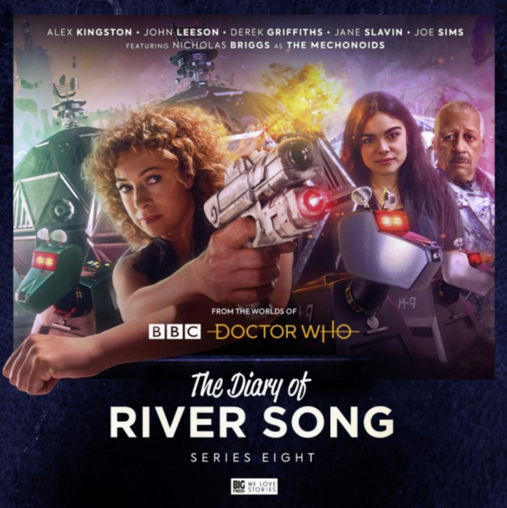 Diary of River Song Vol 8 cover art