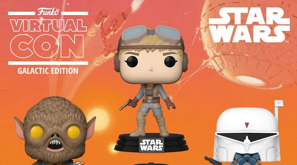 STAR WARS Celebration: Funko Officially Reveals Their Concept Series POPS!