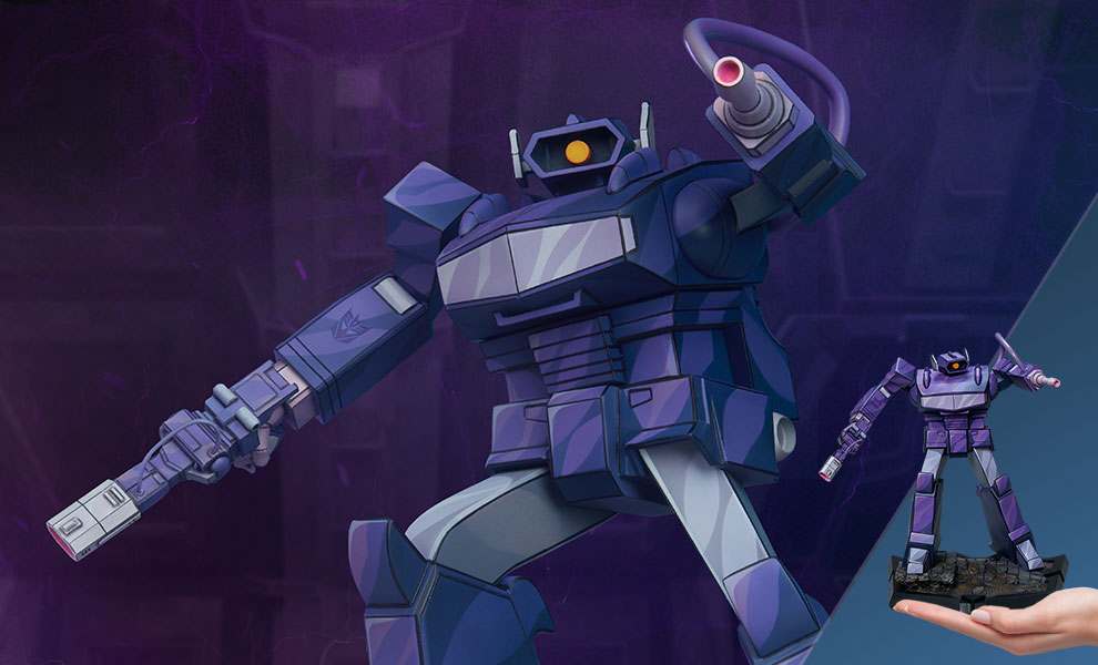 Transformers: Retro Shockwave Statue Is Heading Our Way From Sideshow Collectibles