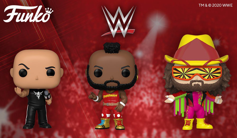 WWE: New Funko POPS! Coming Soon
