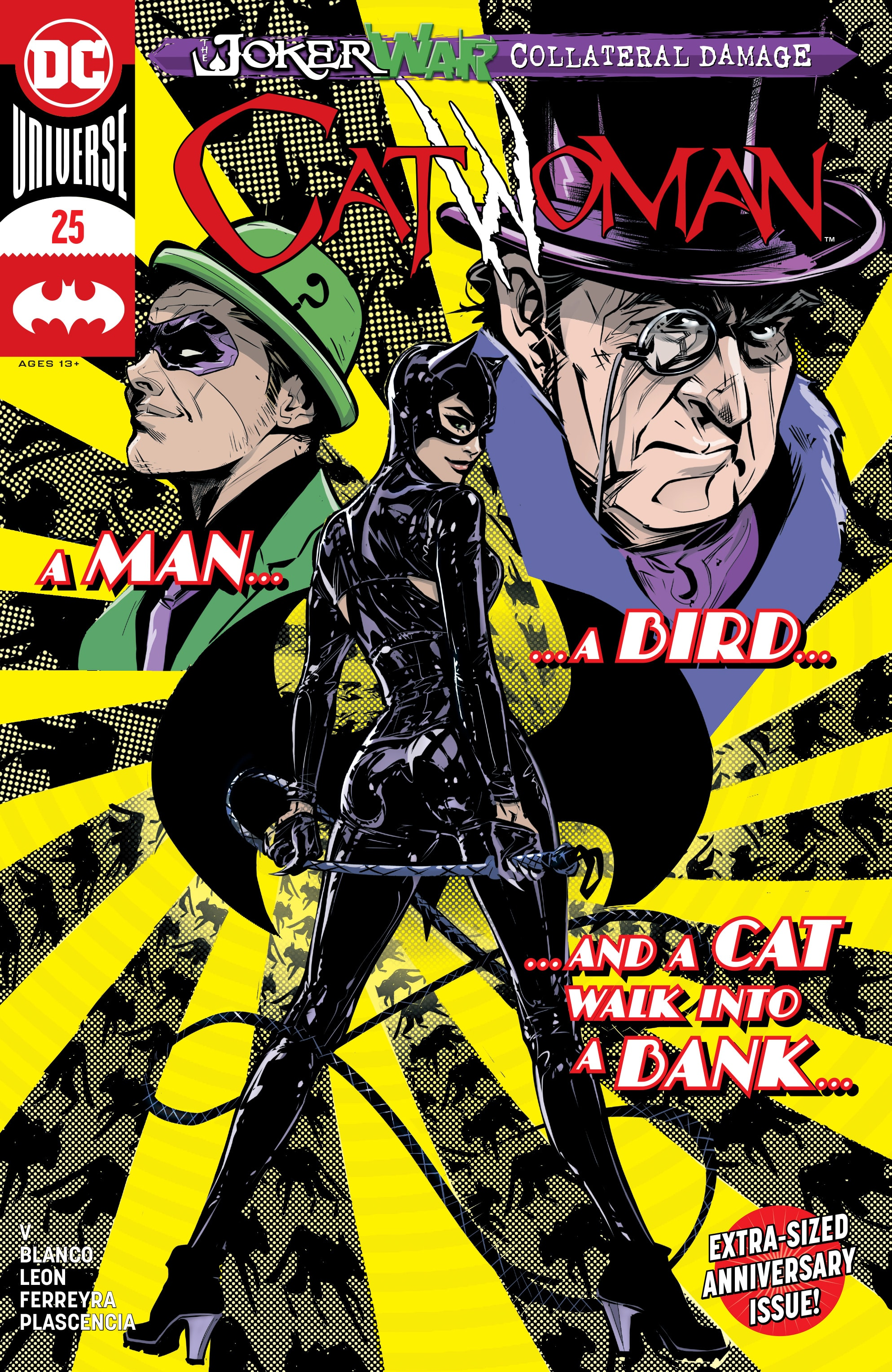 Catwoman 25: Let's Dance – THRICE!