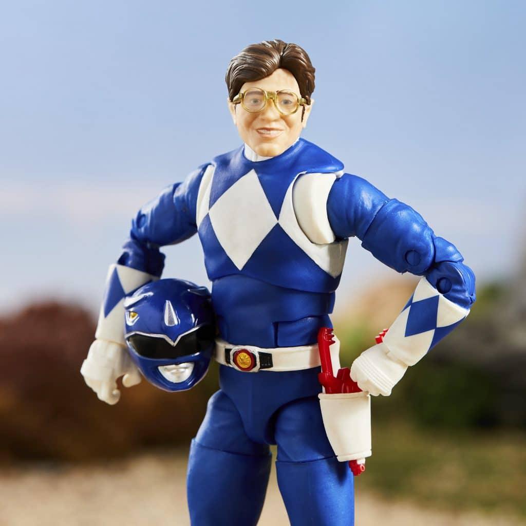 NEW Mighty Morphin Power Rangers Lightning Collection Black Ranger w// Zach Head