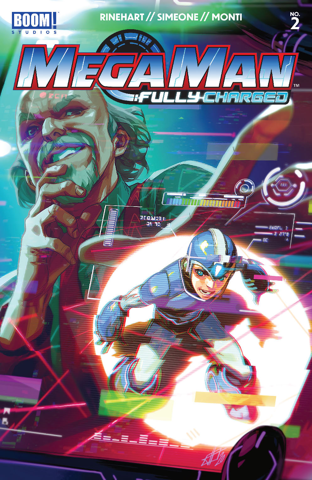 Mega-Man Fully Charged #2 Review