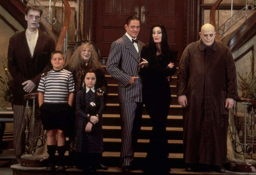 The Addams Family (1991) cast