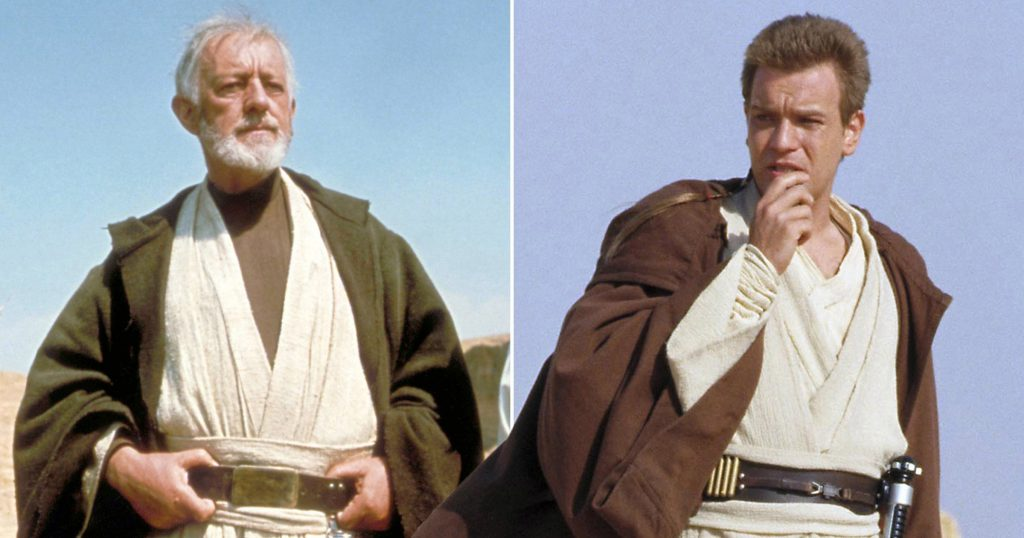 Old Ben and Obi-Wan