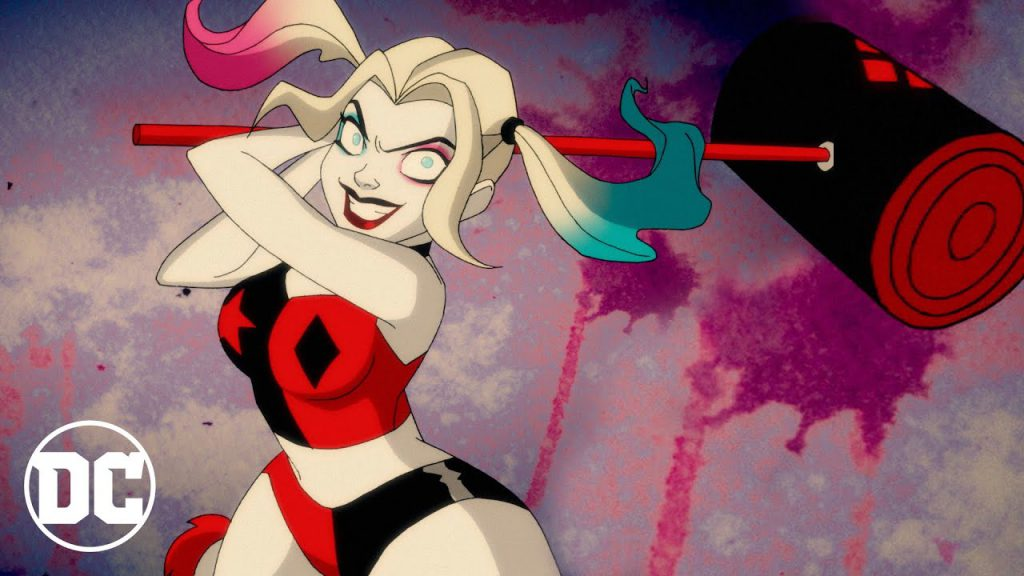 Harley Quinn swinging big