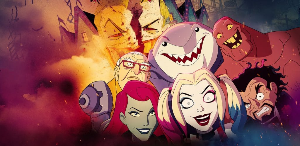 Harley Quinn and Crew