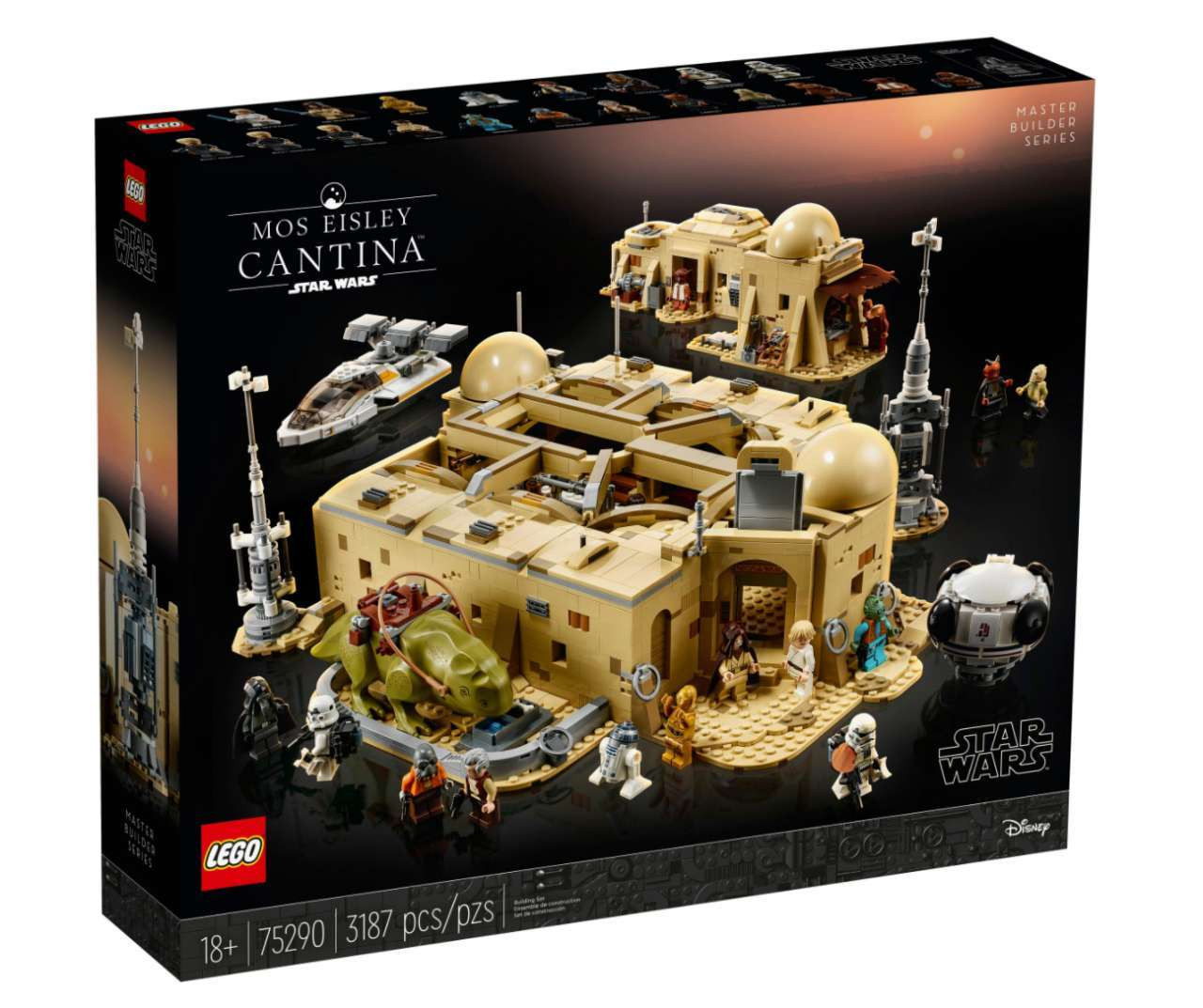 LEGO Star Wars: Enormous Mos Eisley Cantina Set Coming on October 1