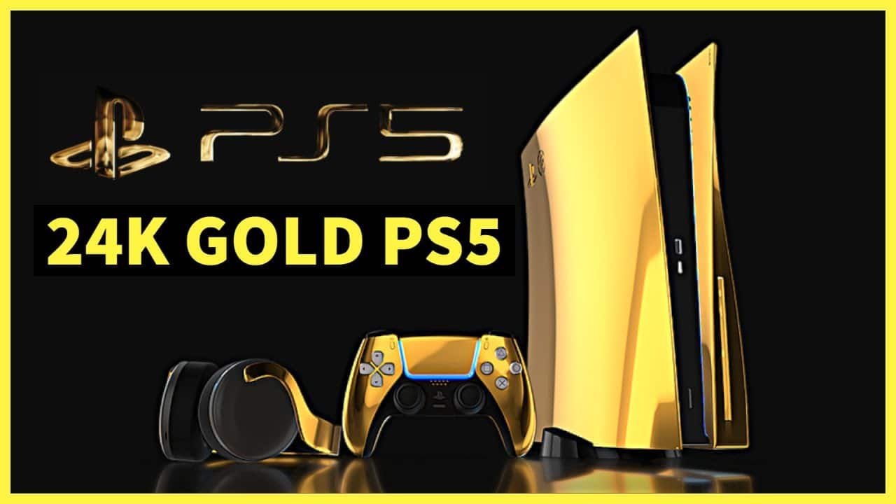 PS5 Preorders Begin September 10, But at a Shiny Golden Price