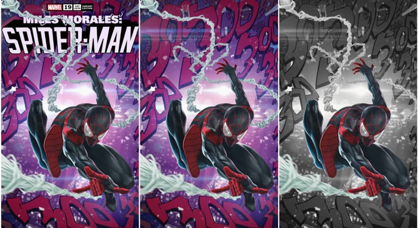 Miles Morales Spider-Man 19 ASM 300 Homage Variants Are A Must Have