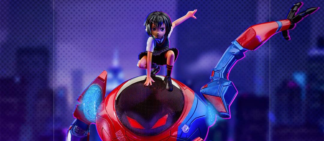 Spider-Man: Into the Spider-Verse – Peni Parker & SP//dr Now Available For Pre-order.