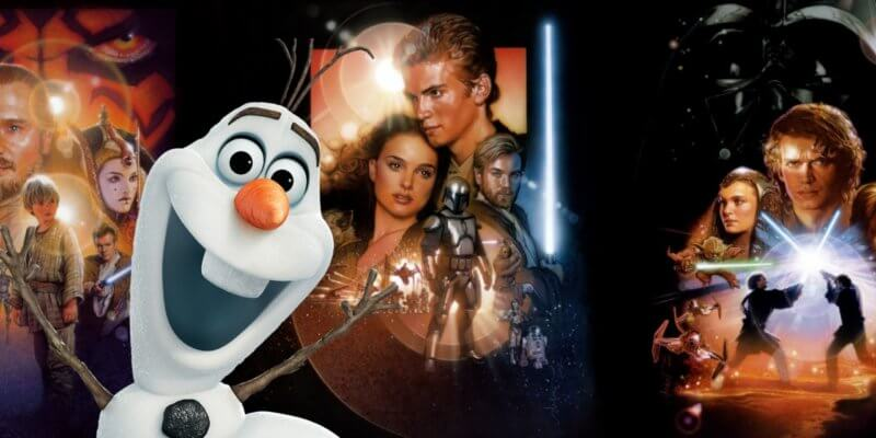 Josh Gad/Olaf gives his recap of the Star Wars prequel trilogy.