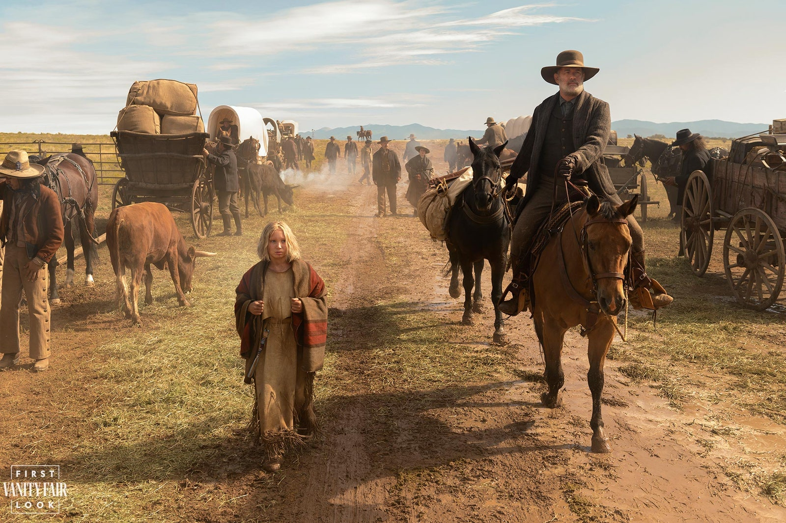 News of the World Trailer Shows Tom Hanks Return as a Cowboy