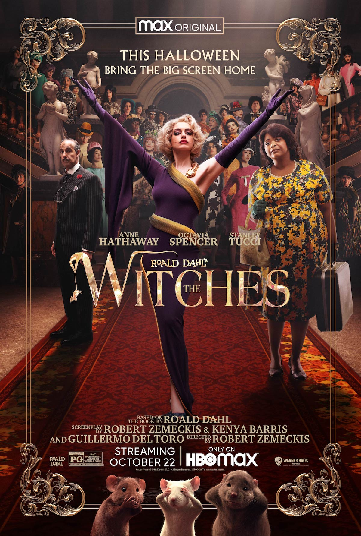 The Witches Remake Gets Freaky New Teaser Trailer a Week Before Release