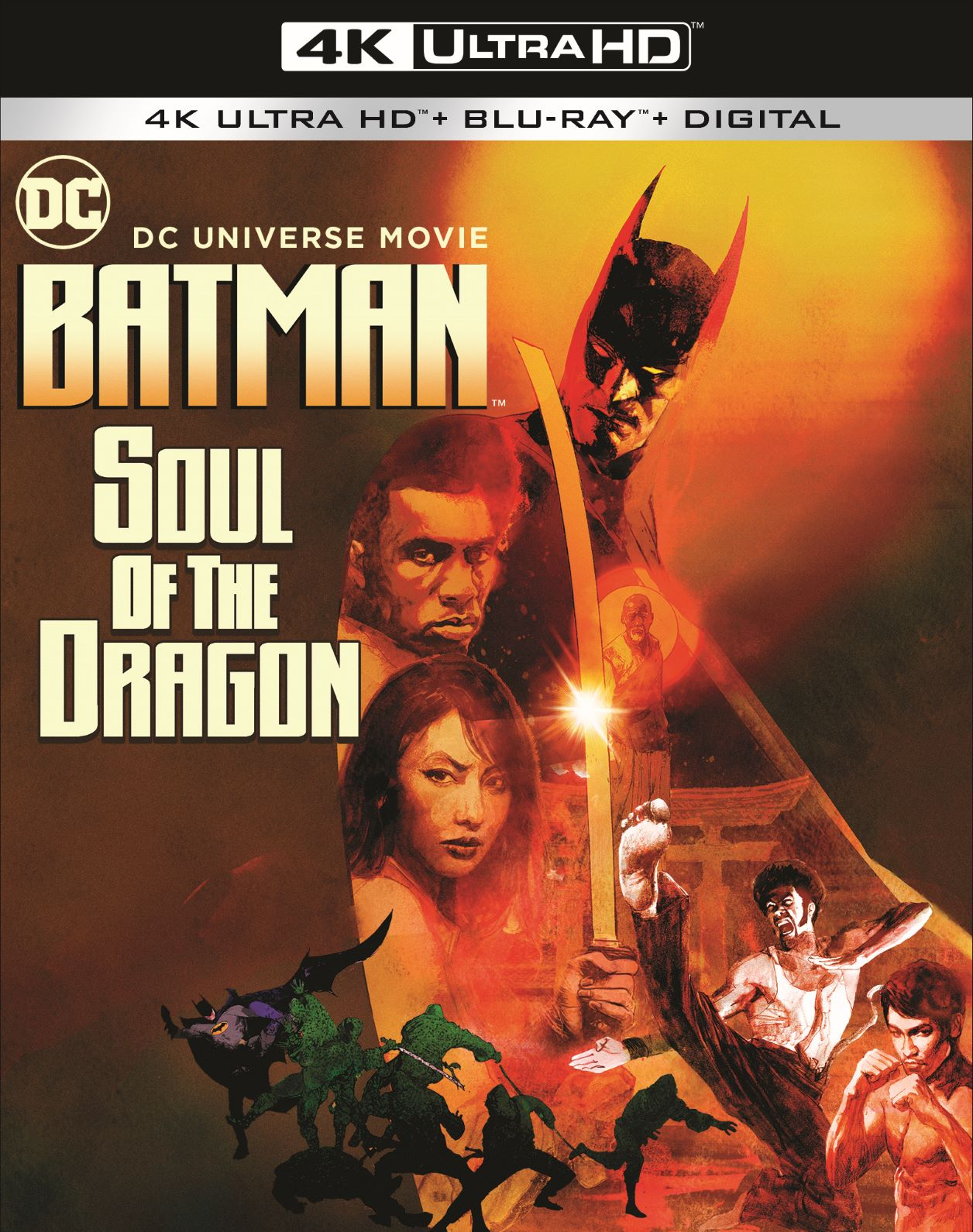 Batman: Soul of the Dragon Kung Fu Fighting Its Way to You January 2021 on Digital and Blu-Ray