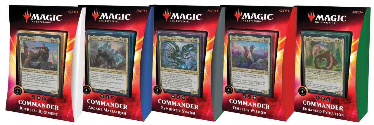 Commander 2020 Decks On Sale For Cyber Monday