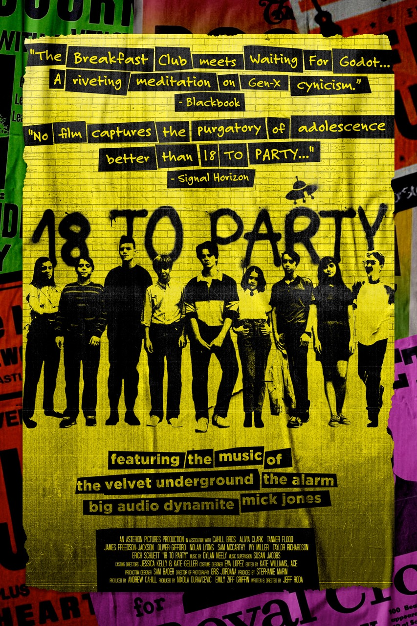 Final Poster for 18 to Party film
