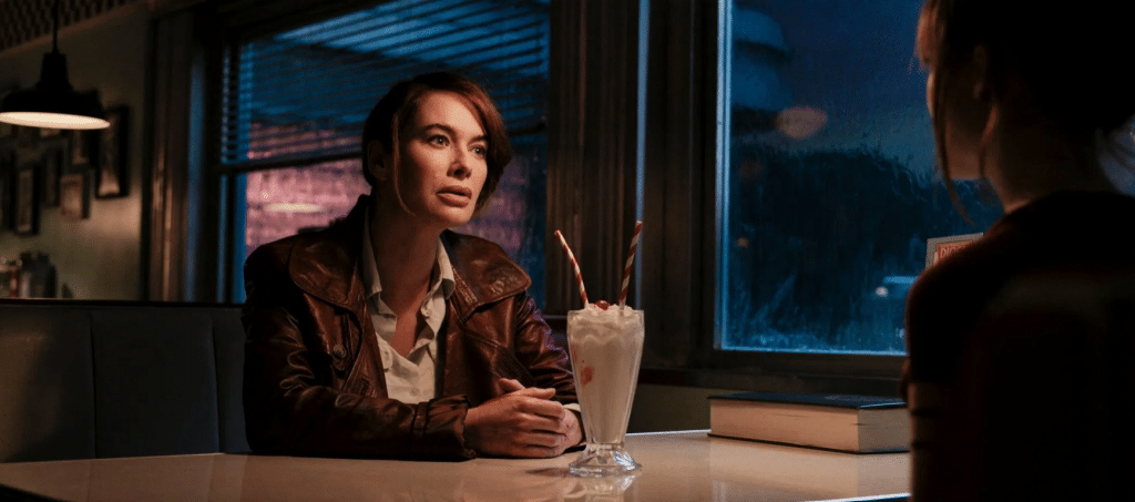 Lena Headey in Gunpowder Milkshake