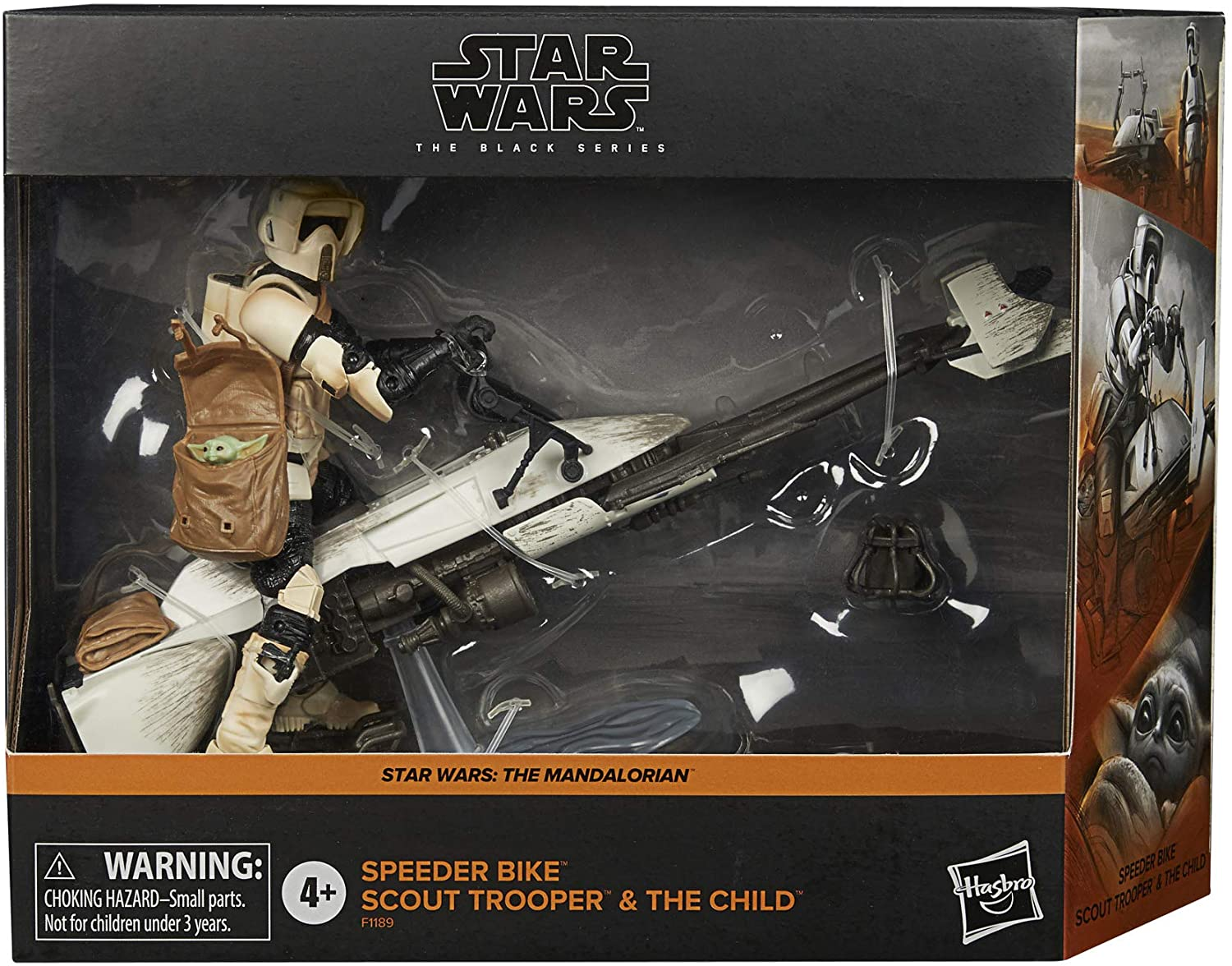 Star Wars The Black Series: Speeder Bike Scout Trooper Special Mandalorian Edition Now Available