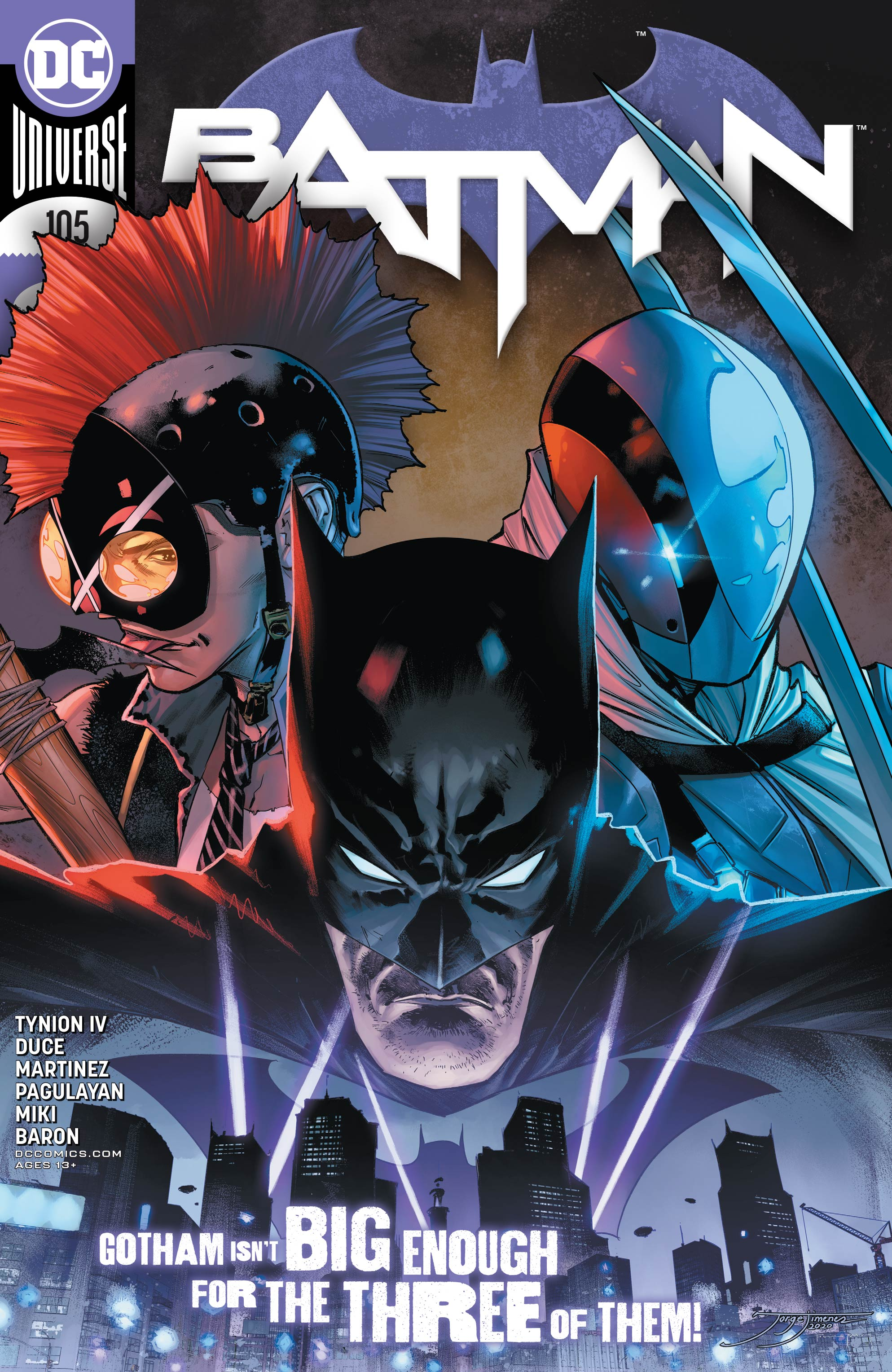 Batman 105 – Batman and Harley Save The Best For Last (SPOILERS)