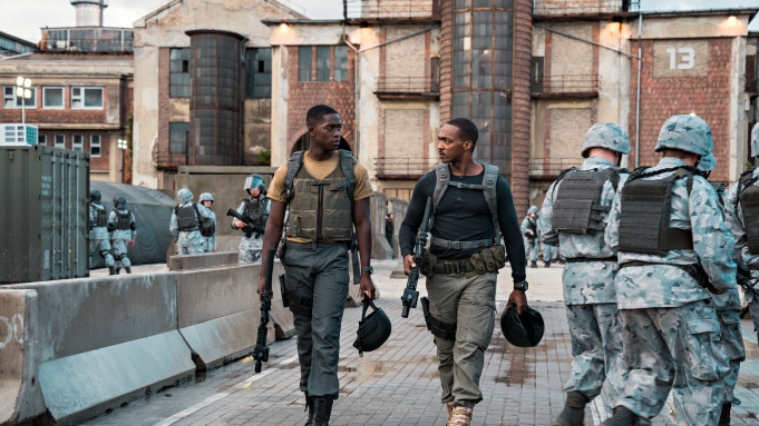 Outside the Wire Netflix Original Trailer Stars Anthony Mackie as a T-1000 Terminator in All But Name