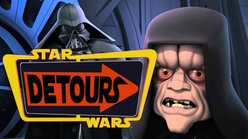 Star Wars Detours logo, also from Lucasfilm.