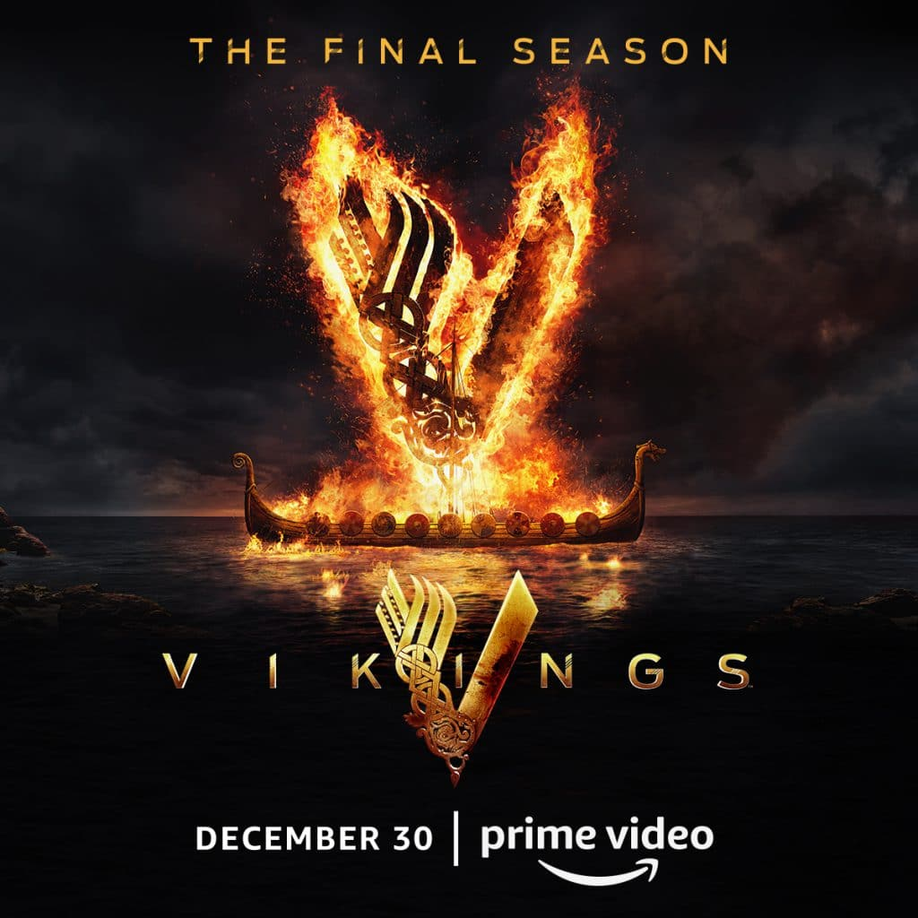 Vikings season 6 logo