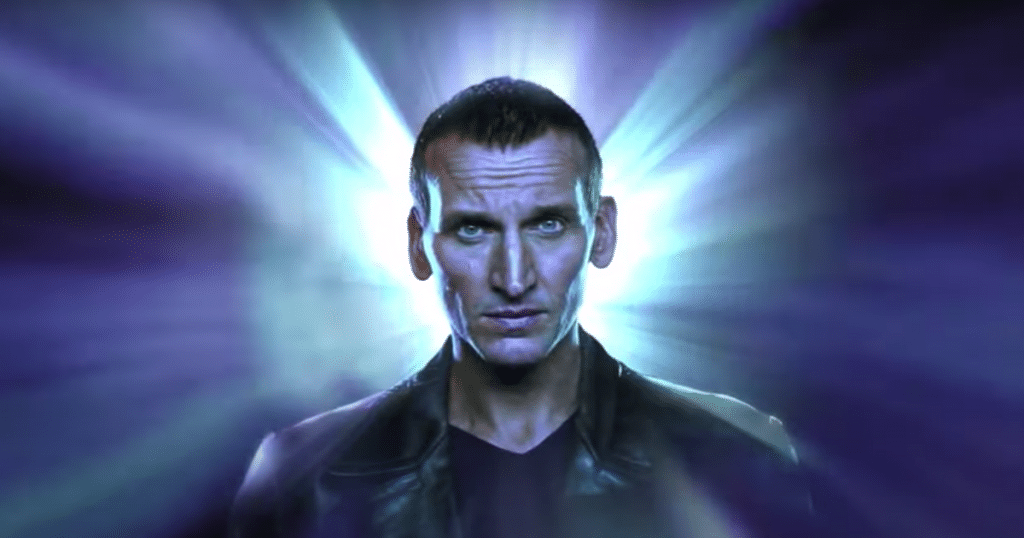 Christopher Eccleston as the Ninth Doctor for Big Finish