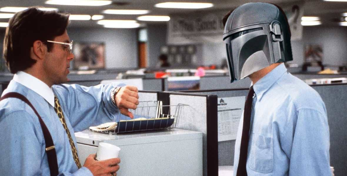 Did You Catch The Office Space Easter Egg In The Mandalorian?