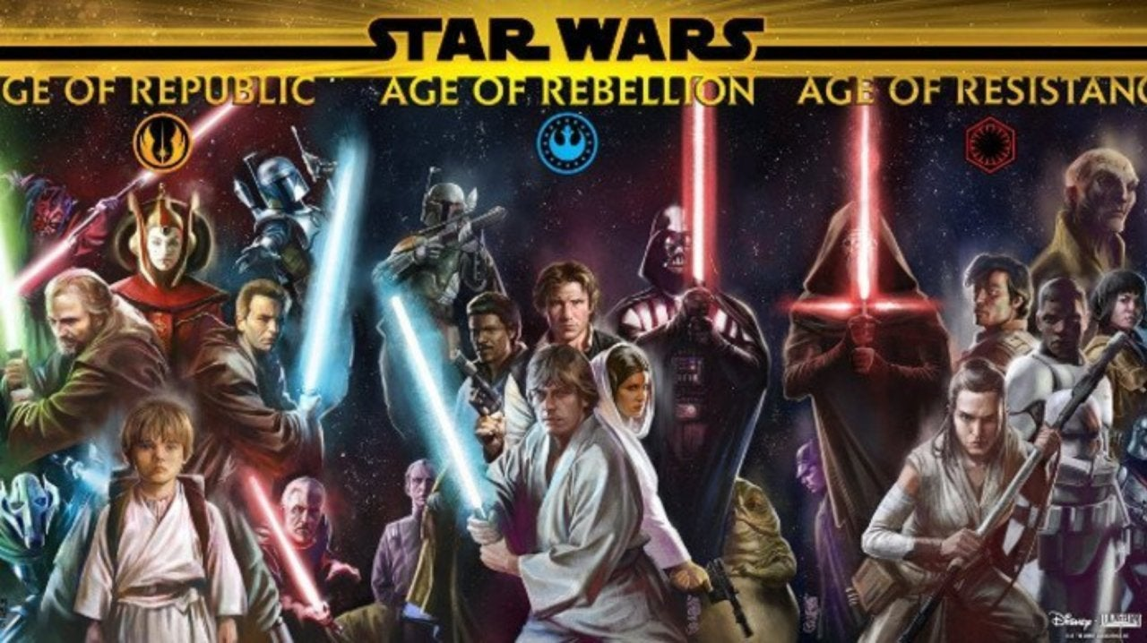 Star Wars Canon Timeline For Movies Books Comics That Hashtag Show