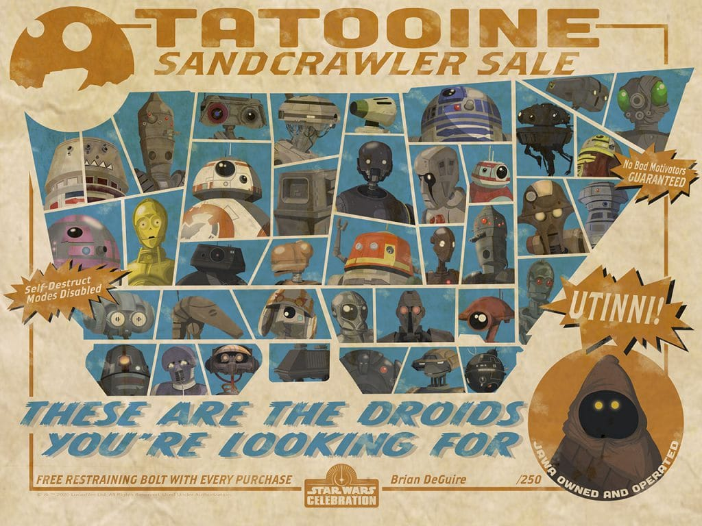 The Droids You're Looking For by Brian DeGuire