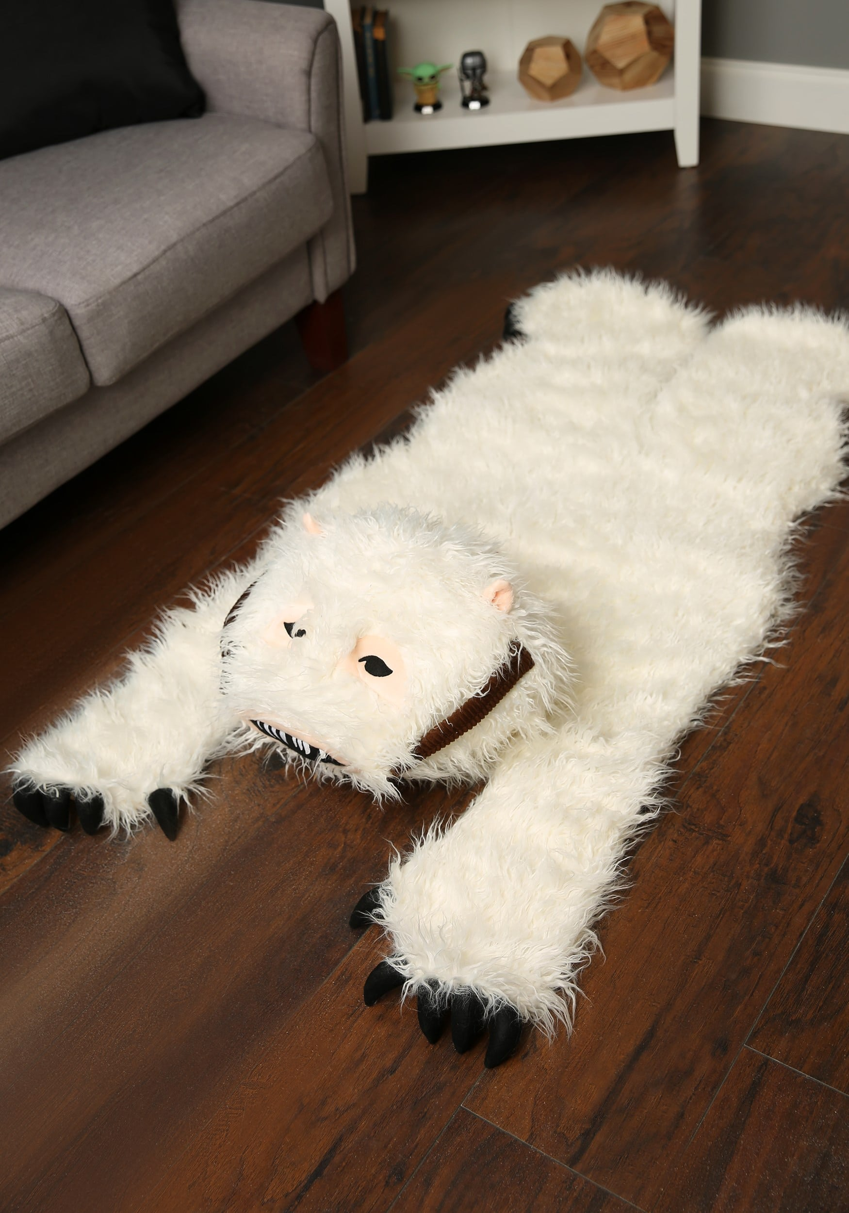 Star Wars Wampa Rug Available to Satisfy Your Hoth Hunting Trip Fantasies