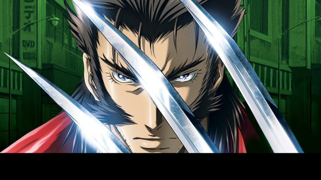 Wolverine in anime