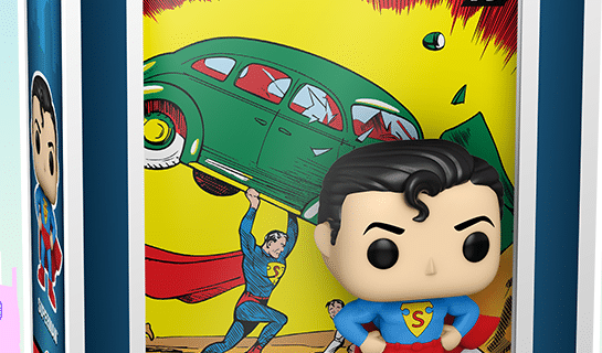 Funko Fair: Superman Action Comics Pop! Available For Pre-Order