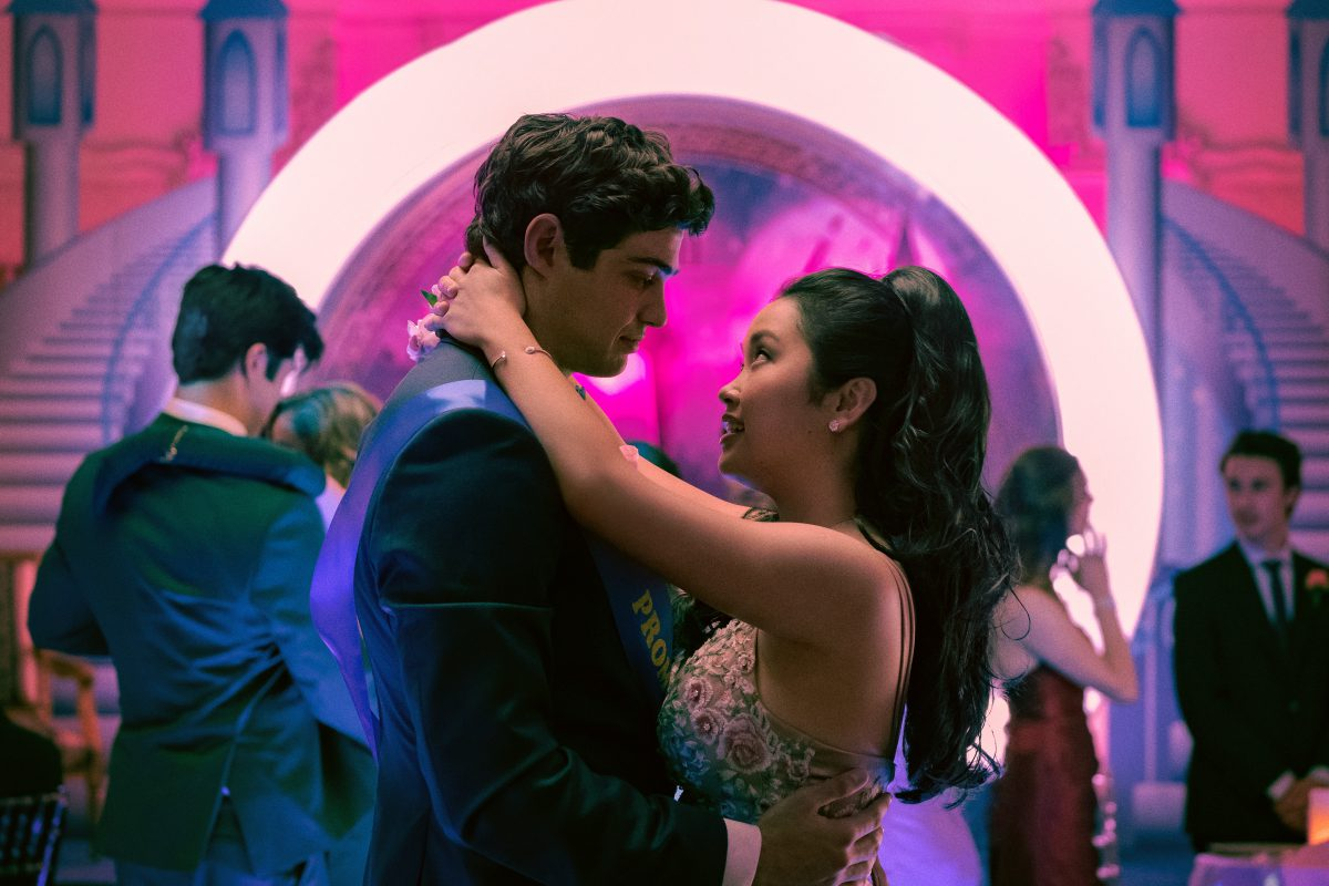 Noah Centineo as Peter Kavinsky, Lana Condor as Lara Jean Covey, in TO ALL THE BOYS IVE LOVED BEFORE 3