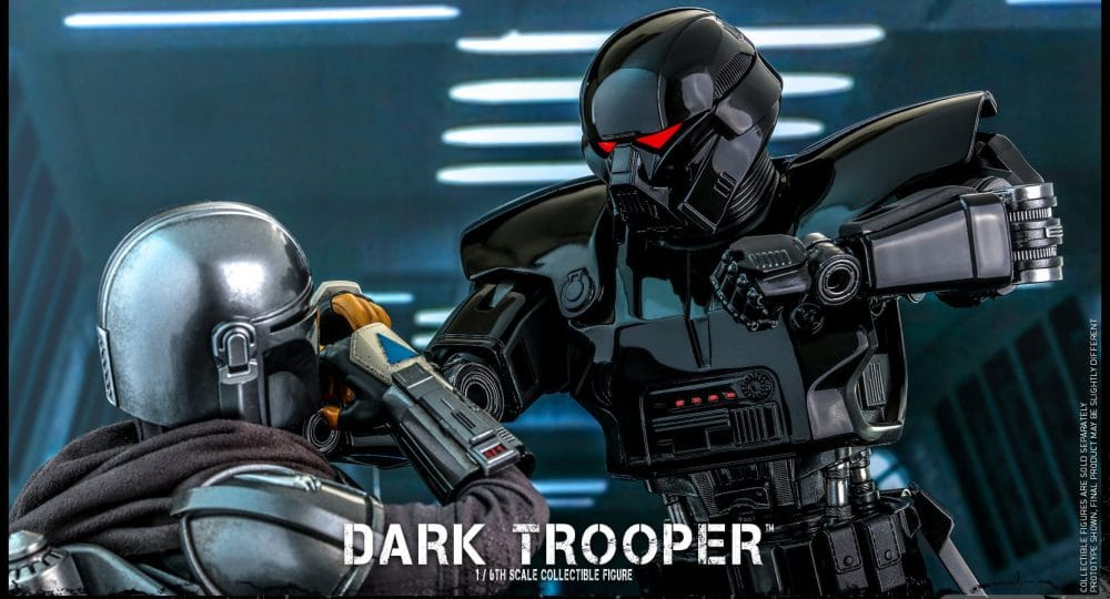 The Mandalorian: Dark Trooper Coming Soon From Hot Toys
