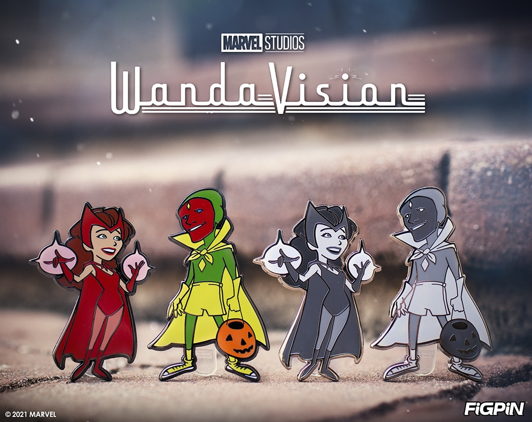 FiGPiN: WandaVision Limited Edition Pins Available For Pre-Order