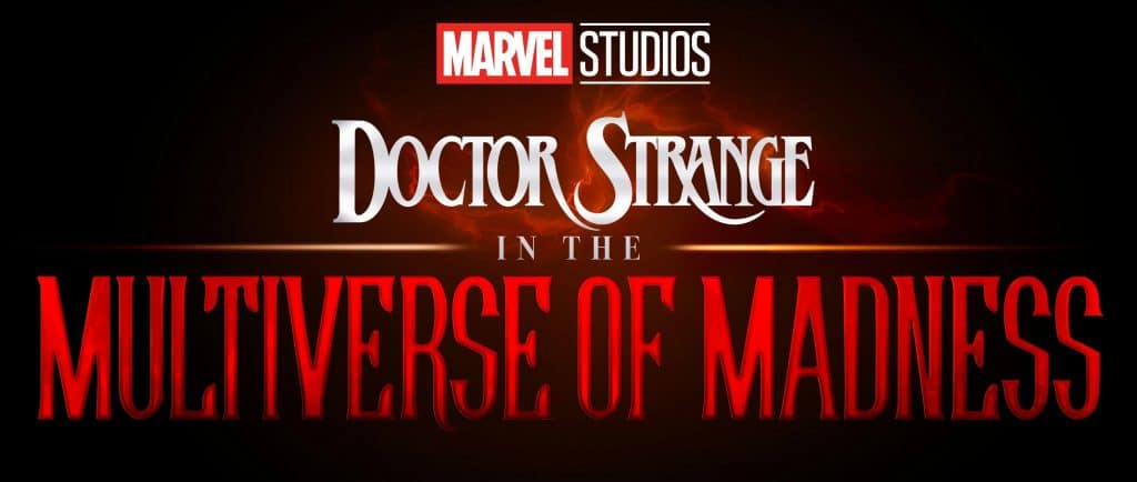 Doctor Strange in the Multiverse of Madness logo.