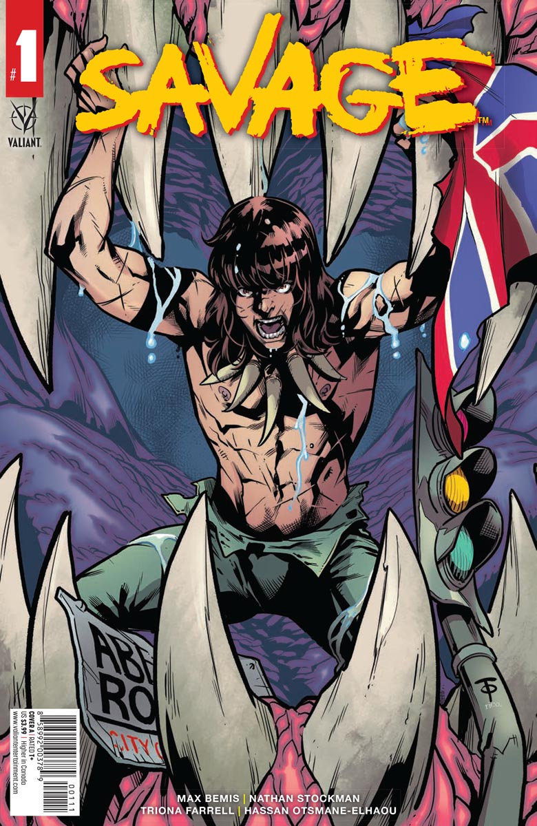 SAVAGE #1: Teen Tarzan Meets London, But With Dinosaurs (Spoilery Comic Book Review)