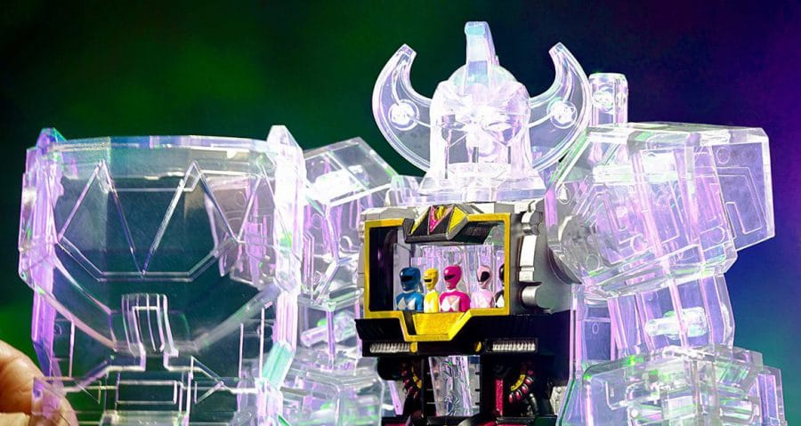 Super7: MMPR Megazord Joins The Super Cyborg Lineup